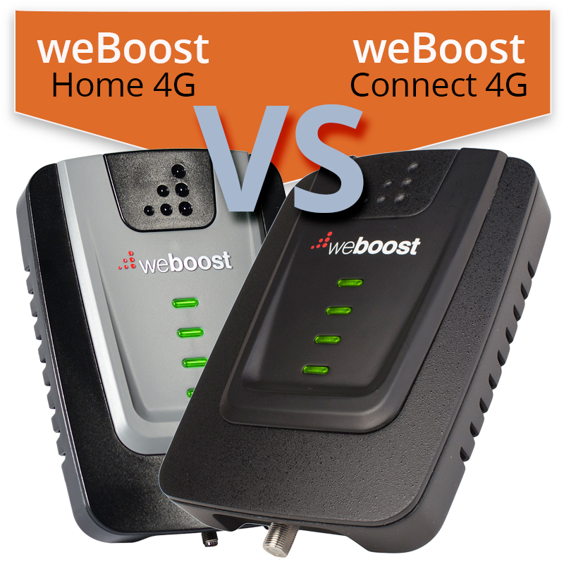 Click to read full article comparing the weBoost Home 4G with the weBoost Connect 4G.