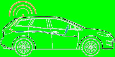 weBoost 470135 Drive Sleek setup diagram