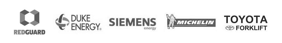 RedGuard, Duke Energy, Siemens Energy, Michelin, Toyota Forklift