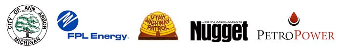 Powerful Signal's satisfied customers include City of Ann Arbor Michigan, FPL Energy, Utah Highway Patrol, John Ascuaga's Nugget, Petro Power