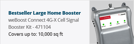 Bestseller: weBoost Connect 4G-X