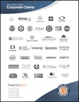 Powerful Signal Corporate Clients PDF