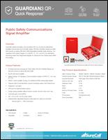 Download the SureCall Guardian3 QR spec sheet (PDF)