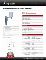 Download the Top Signal TS210371 spec sheet (PDF)