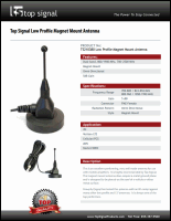 Download the Top Signal TS210380 antenna spec sheet (PDF)