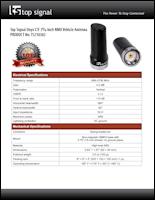 Download the Top Signal TS210382 spec sheet (PDF)