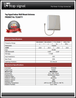 Download the Top Signal TS260771 spec sheet (PDF)
