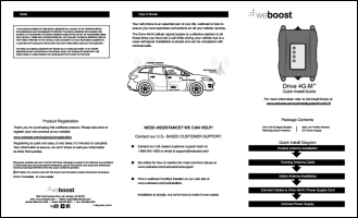 Download the weBoost Drive 4G-M 470121 install guide (PDF)