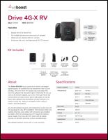Download the weBoost Drive 4G-X RV 470410 spec sheet (PDF)
