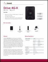 Download the weBoost Drive 4G-X 470510 spec sheet (PDF)