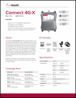 Download the weBoost Connect 4G-X 471104 spec sheet (PDF)