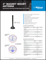 Download the Wilson 301126/301113 spec sheet (PDF)