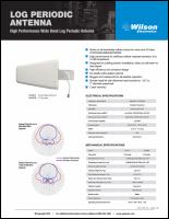 Download the Wilson 314411/314475 spec sheet (PDF)