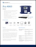 Download the WilsonPro 4000/4000R spec sheet (PDF)