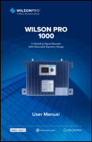 Download the WilsonPro 460236 Pro 1000 user manual (PDF)