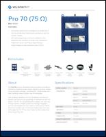 Download the WilsonPro 70 spec sheet (PDF)