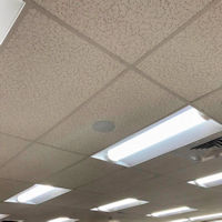 Top Signal 4G Ultra-Thin Ceiling-Mount Dome Antenna N-Female TS250376 installed in a drop ceiling 2