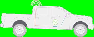 weBoost Drive 4G-X Fleet NMO cell signal booster 470221 setup diagram