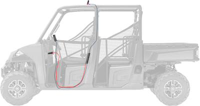 weBoost 470135 Drive Sleek UTV/ATV Edition setup diagram