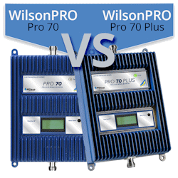 What are the differences between the WilsonPro 70 and WilsonPro 70 Plus?